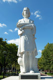 Boston Colombus społeczeństwa statua fotografia stock