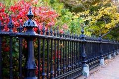 Boston común y jardín público, los E fotos de archivo libres de regalías