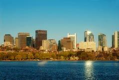 Boston com dom Imagens de Stock Royalty Free
