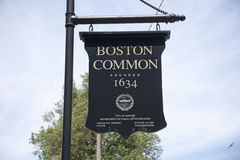 Boston Common  Stock Images