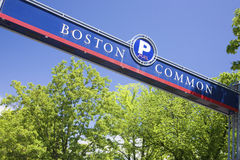 Boston-Common Lizenzfreies Stockbild