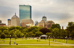 Boston Common Stock Photo
