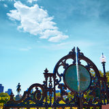 Boston Common Arlington gate George washington Royalty Free Stock Photography