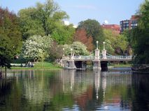 Boston-Common-Brücke Stockbild