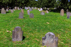 Boston Common Central Burying Ground Royalty Free Stock Photo