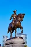Boston Common George Washington monument. At Massachusetts USA Royalty Free Stock Photos