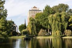 Boston-Common-Park Lizenzfreies Stockbild