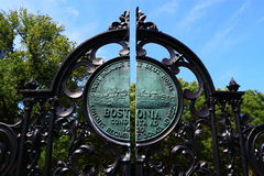 Boston Common Public Garden Gate Royalty Free Stock Photo