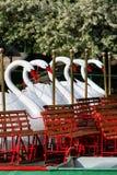 Boston Common and Public Garden, USA Royalty Free Stock Photos