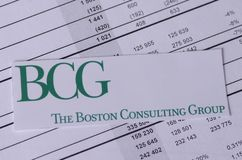 Boston Consulting Group stock fotografie