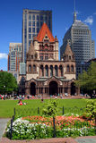 boston copleyfyrkant Royaltyfria Bilder