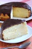 Boston Cream Pie Royalty Free Stock Images