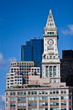 Boston Custom House Clock Tower Royalty Free Stock Images