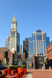 Boston Custom House in Financial District Stock Photography