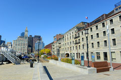 Boston Custom House in Financial District Royalty Free Stock Photo