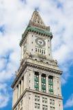 Boston custom house tower, massachusetts - USA Royalty Free Stock Photos