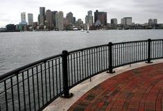 Boston dal pilastro Fotografia Stock