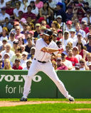 boston damon johnny Red Sox Royaltyfria Bilder