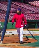 boston damon johnny Red Sox Royaltyfri Fotografi