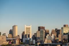 boston dawn skyline Στοκ εικόνα με δικαίωμα ελεύθερης χρήσης