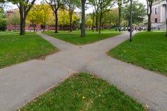 Boston in de herfst, de V.S. royalty-vrije stock afbeelding