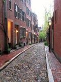 Boston - de Straat van de Eikel Stock Afbeeldingen