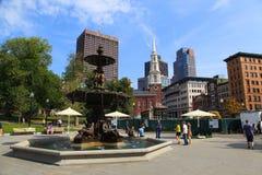 Boston del centro Fotografie Stock Libere da Diritti