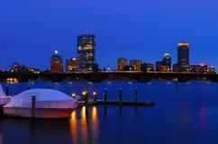 Boston an der Dämmerung #2 Lizenzfreies Stockbild