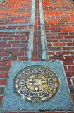 Boston die Freiheits-Spur Lizenzfreies Stockfoto
