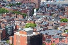 Boston, doctorandus in de letteren Stock Fotografie