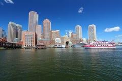 Boston, doctorandus in de letteren Stock Foto