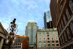 Boston downtown Royalty Free Stock Photo