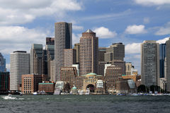 Boston Downtown Stock Photo