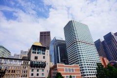 Free Boston Downtown Building Stock Photos - 98703973