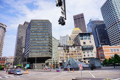 Free Boston Downtown Building Stock Photography - 98704112