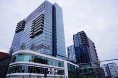 Boston downtown building Stock Photo