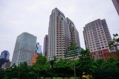 Boston downtown building Royalty Free Stock Photo