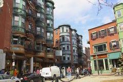 Boston Downtown Stock Photo