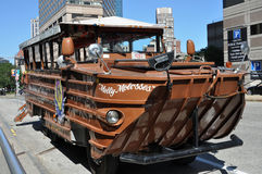 Boston duck boat tours Stock Images
