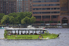 Boston Duck Tour Fotografia Stock Libera da Diritti
