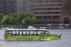 Boston Duck Tour Royaltyfri Fotografi