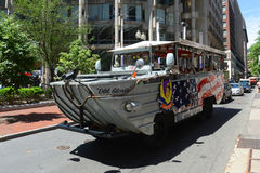Boston Duck Tours, Massachusetts, USA Royalty Free Stock Photography