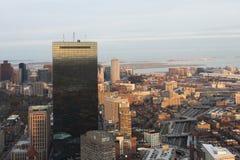 Boston at dusk Royalty Free Stock Photo