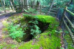 Boston e asse di estrazione mineraria del nord Michigan Immagini Stock
