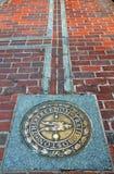 Boston el rastro de la libertad Foto de archivo libre de regalías