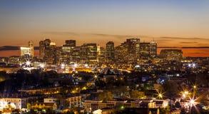 Boston em Massachusetts, EUA Fotos de Stock Royalty Free