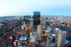Boston en Massachusetts Imagen de archivo libre de regalías