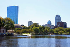 Boston Esplanade Stock Photo