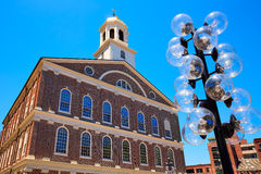 Boston Faneuil Hall in Massachusetts USA Royalty Free Stock Photos