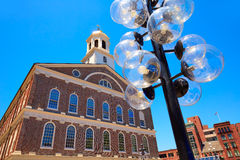 Boston Faneuil Hall in Massachusetts USA Royalty Free Stock Photography